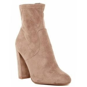 Steve Madden Echo Booties Ankle Boots Taupe 10